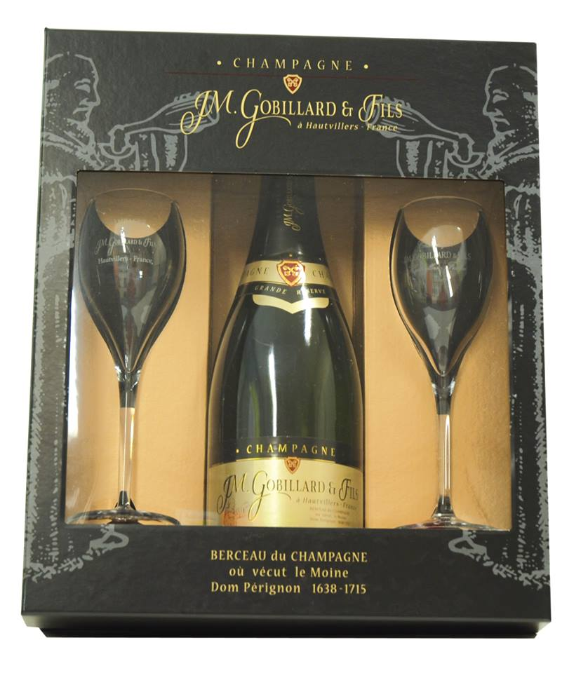 coffret champagne epernay